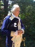 Actor portrays George Washington at Mount Vernon, by Christopher Lancette
