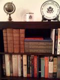 Book shelf purchased at estate sale, by Christopher Lancette