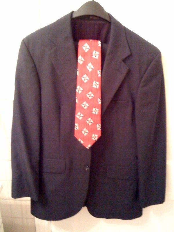 Suit donation
