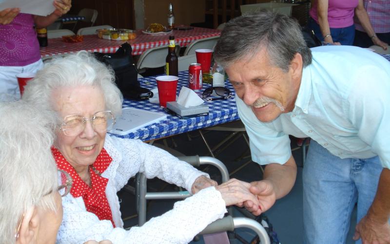 Uncle John Aunt Irene Grandma